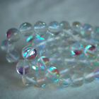 "High Quality Mystic Aura Quartz Round Beads - 6, 8, 10mm - 16"" strand"