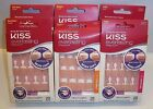Lot of 2 Kiss Everlasting French Ultra Comfort Nails Real Short Petite or Medium