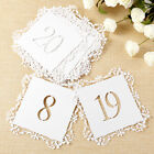 20 Pieces Wedding / Occasion Table Number Cards - Number 1 to 20