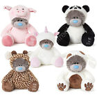 "Me to You 9"" 24"" Unicorn Pig Giraffe Dog Panda Animal Sleepsuit Tatty Teddy Bear"