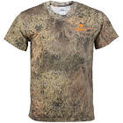 MOSSY OAK BOYS'S BRUSH CAMO T-SHIRT SLEEVE CREW