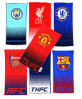 OFFICIAL FOOTBALL CLUB - TOWEL Fade Beach/Home/Bathroom -All Clubs (100% Cotton)