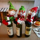 Christmas Santa Snowman Elf Wine Bottle Cover Table Party Decor Xmas Ornament LD