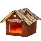 Dog House Cat Bed Pet Kennel Cute Puppy Mat Warm Dogs Bed Small Medium Large