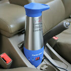 Car Heated Travel Mug Cup 12V Stainless Steel Thermal Mug Travel Camping Outdoor