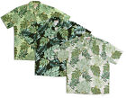 Leaves by Paradise Found aloha shirt   (MS185)