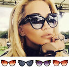 Stylish Cat Eye Women Sunglasses Female Gradient Points Oversized Sun Glasses