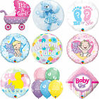 Qualatex BABY SHOWER BABY BOY/GIRL Latex & Stagnola Palloncini Festa -Benvenuto