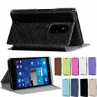 Colorful PU Leather Stand Flip Slim Case Cover Skin For HP Elite X3 Cell Phone