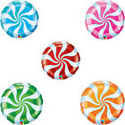 "18"" Candy Swirl Qualatex Party Balloons - Kids Party Decoration {Helium}"