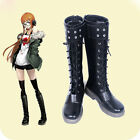 New Anime Persona 5 Futaba Sakura Cosplay Boots Shoes Cosplay Free Shipping