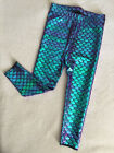 Kid Baby Girl Skinny Mermaid Fish Scale Legging Stretchy Pant Pencil Trousers WE
