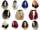 Wiwigs ® Wonderful Wild Untamed Medium Curly Wigs Blonde Red Grey Brown Ombre