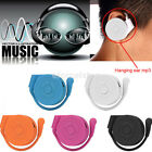 5 Colors Earhook USB Digital MP3 Music Player Support 32GB Micro SD TF Card Gift