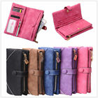 Fashion Lady Women Clutch PU Leather Long Wallet Card Holder Purse Handbag
