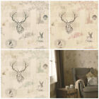 Holden Decor - Richmond Stags Wallpaper - Rustic Tartan Wallcoverings - Freepost