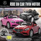 Licensed Mercedes-Benz AMG S63 Kids Electric Ride on Car R/C 12V Dual Battery