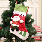 Xmas Tree Ornaments Christmas Socks Santa's Claus Present Party Kid's Gift Bag S