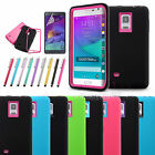 Shockproof Rugged Protective Bumper Back Case Cover for Samsung galaxy note edge