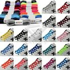 Trendy 1 paire Lacets ovales 20 couleurs Athletic Sport Sneaker 47in/120cm
