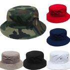 Summer Boonie Bucket Hat Cap Cotton Fishing Military Hunting Outdoor Men gift