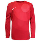 Nike Authentic Long Sleeved Football Pull Over T Shirt Kids Red 448265 604 DD112