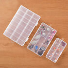 Empty Storage Container Box Case For Nail Art Tips Rhinestone Gems Ring Earing