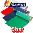 "SISER EasyWeed Heat Transfer Vinyl Tshirt Thin HTV 15"" x 1, 3, 5 or 10yd Iron On"