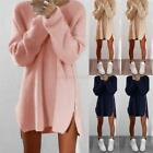 USA Women Oversized Long Sleeve Knitted Sweater Tops Cardigan Outwear Coat