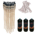 Handmade Bamboo Torch 90cm for Garden Yard Party Light Lamp Lantern / Oil / Wick