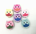 Mixed Owl Shape Wooden Beads Jewelry Accessories Baby Crafts Bead Accessories