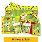 PHINEAS AND FERB Birthday Party Range (Tableware & Decorations & Partyware)