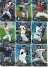 2016 Bowman Draft Chrome Refractors Baseball cards - Complete Your Set !!