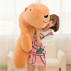 hot Giant Big Fluffy Bears pillow Soft Animal Toy Stuffed Brown White Doll gifts