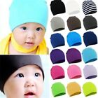 New Toddler Kids Girl Boy Baby Hats Infant Winter Warm Cotton Hat Beanie Cap UK