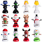 Christmas Halloween Solar Powered Swing Dancing Toy Novelty Home Car Ornament UK