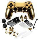 Chrome Shell Case Full Mod Kits Protection Cover for PS4 Controller Playstation