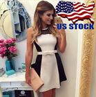 Sexy Womens Party Dress Sleeveless Mini Evening Casual Dresses Cocktail Clothing