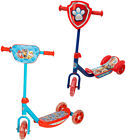 Paw Patrol 3 Wheel Scooter with Marshall, Chase, Rubble, Skye, Everest