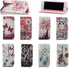 Luxury 3D Beautiful Magnetic Leather Stand Card Wallet Flip Case Cover Lot Phone