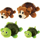 Kong Shells Turtle Bear Large Small Dog Squeaker Toy