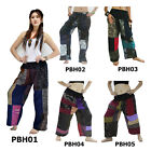 Pants PBH1-5 Thailand Heavy Cotton Handmade Patchwork Casual Sun Beach Women Men