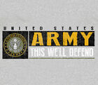 U.S. Army Strong Sport Band GRAY Adult T-shirt