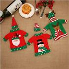 Christmas Wine Bottle Holder Candy Bag Stocking Festival Xmas Party Home Decor D