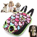 Canvas Mesh Pet Dog Puppy Cat Carrier Backpack Travel Tote Breathable Bag S/M/L