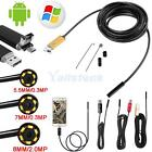 8mm 6LED Android Endoscope Waterproof Inspection Camera Micro USB Video Camera