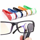 Portable 2 Mini Sun Glasses Eyeglass Microfiber Spectacles Cleaner Brush Tool
