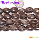 """Natural Freeform Brown Smoky Quartz Crystal Gemstone Beads For Jewelry Making15"""""""
