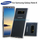 For Samsung Galaxy Note 8 Crystal Clear TPU Cover Full Body Protective Case Skin