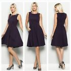 NWT BLACK SLEEVELESS BOUTIQUE DRESS WITH SIDE POCKETS